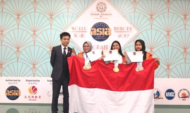 Tim Indonesia dalam World Memory Championship 2019. (Ist.)