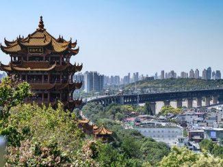 Pemandangan Kota Wuhan, Tiongkok. (Ist.)