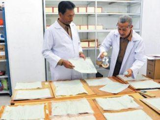 Ilustrasi: ANRI siap membantu memulihkan berkas dokumen korban banjir. (Dok. ANRI)
