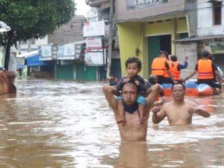 Ilustrasi: Banjir di Jakarta. (Ist.)