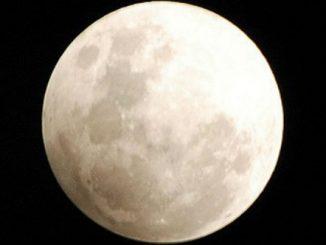 Gerhana Bulan Penumbra (Foto: BMKG)