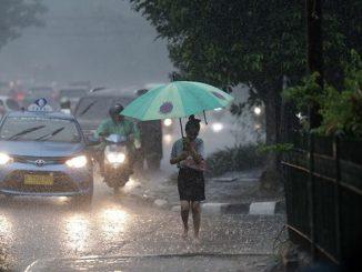 Ilustrasi: Prakiraan hujan di Jabodetabek. (Ist.)