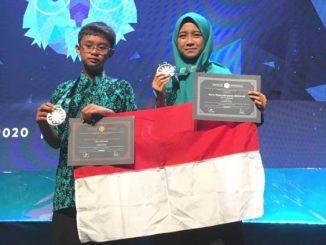 Dua pelajar MTsN 1 Malang raih prestasi pada olimpiade matematika di Australia. (Ist.)