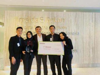 Mahasiswa FIA UI meraih Juara 1 Deloitte Tax Challenge Competition. (Ist.)