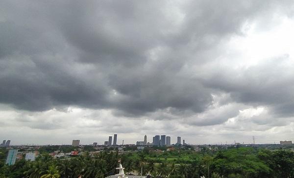 Mendung di langit Tangerang
