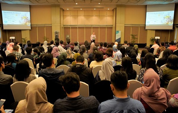 Semarak Sesi Informasi New Zealand Scholarships (NZS) 2020 di Financial Hall, Graha CIMB Niaga 2nd Floor, Jl.Jendral Sudirman Kav 58, Jakarta, Jumat, 31 Januari 2020