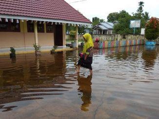 Sekolah Kebanjiran di Jakarta