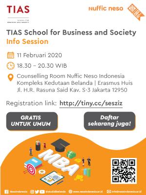 TIAS Info Session 2020 di Jakarta