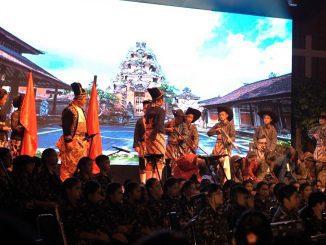"""Penampilan peserta didik jenjang SMPK PENABUR Jakarta di gelaran Art Performance """"Citraloka Nusantara"""", PENABUR Kelapa Gading International School, Sabtu, 8 Februari 2020"""