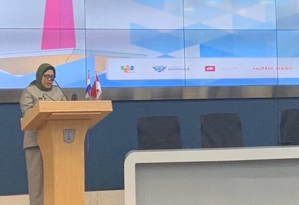 Plt. Deputi Gubernur Provinsi DKI Jakarta Bidang Tata Ruang dan Lingkungan Hidup, Vera Revina Sari di Balai Kota Jakarta Selasa, 4 Februari 2020