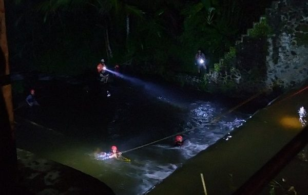 Operasi SAR Korban Susur Sungai Sempor SMPN 1 Turi