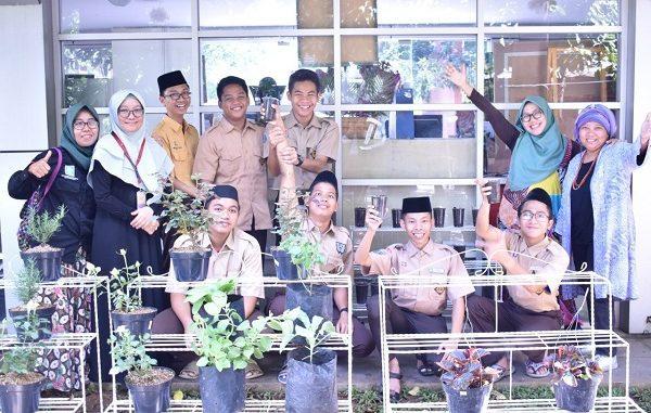 Program Pesantren Hijau di Pesantren Daarul Quran di Tangerang