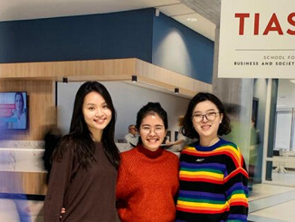 TIAS Full-time MScBA students Tiffany, Ruby and Yiqing from (respectively) Taiwan, Vietnam and China compare their cultures to the Dutch culture based on the six values of the Hofstede model