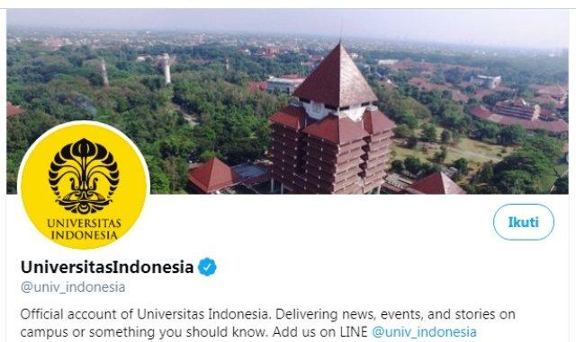 Ilustrasi: Twitter Universitas Indonesia. (Ist.)