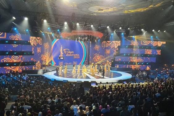 Malam pemilihan Puteri Indonesia 2020