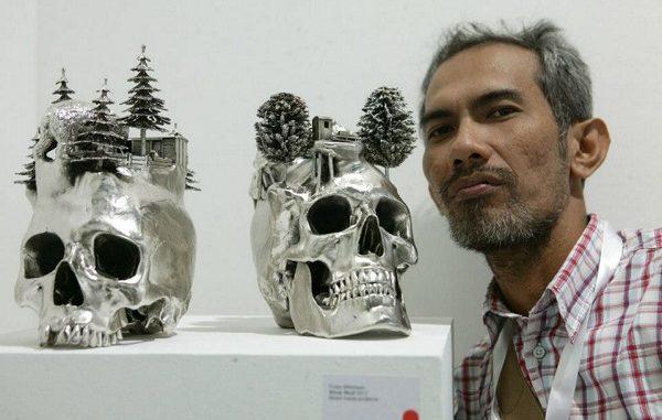Frigidanto Agung, kurator dan penulis seni rupa tinggal di Jakarta