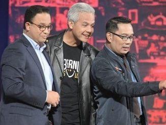 Gubernur DKI Jakarta Anies Baswedan, Gubernur Jawa Tengah Ganjar Pranowo dan Gubernur Jawa Barat Ridwan Kamil