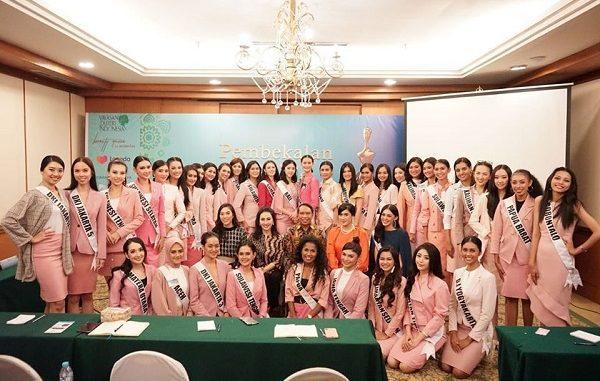 Para Finalis Puteri Indonesia 2020
