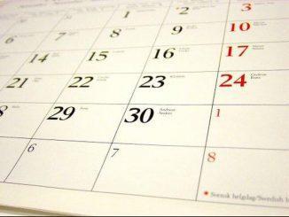 Ilustrasi: Kalender libur nasional. (Ist.)