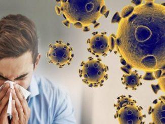 Ilustrasi: penyebaran virus corona. (Ist.)