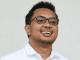 CEO Amartha, Andi Taufan Garuda Putra saat diperkenalkan sebagai Staf Khusus Presiden Joko Widodo