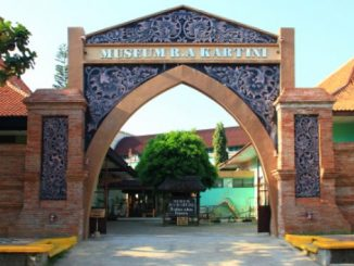 Gerbang Museum R.A.Kartini di Jepara, Jawa Tengah. (Ist.)