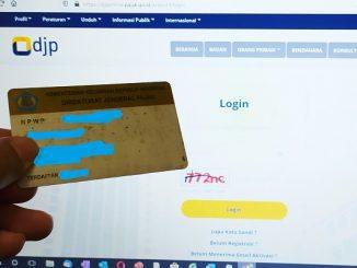 Laman Resmi djponline.pajak.go.id untuk lapor SPT Tahunan
