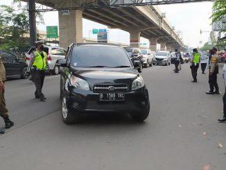Lokasi checkpoint Pembatasan Sosial Berskala Besar (PSBB) masuk Kota Bekasi