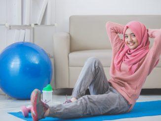 Ilustrasi: Tips olahraga di rumah. (Ist.)