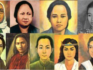 Ilustrasi: Pahlawan perempuan Indonesia. (repro: Prayogo/kalderanews.com)