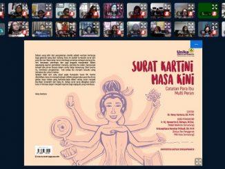 Peluncuran buku Surat Kartini Masa Kini di Ruang LPPM Gedung Mikael Lantai 4, Unika Soegijapranata, Selasa, 21 April 2020