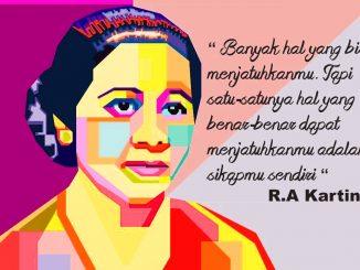 Ilustrasi: Pesan-pesan R.A. Kartini. (Ist.)