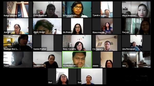 Seminar Parenting Online Webiner SDK 11 PENABUR Jakarta bertajuk Aktivitas Kreatif & Berkualitas Bersama Anak Saat #Dirumahaja, Jum'at, 17 April 2020