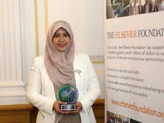 Sri Fatmawati Ssi MSc PhD, pengajar dari Departemen Kimia ITS. (Dok.ITS)