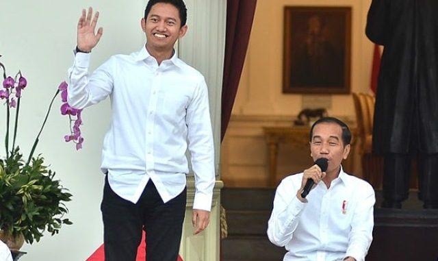 Adamas Belva Syah Devara, CEO RuangGuru saat diumumkan menjadi Staf Khusus Presiden RI Joko Widodo. (Ist.)