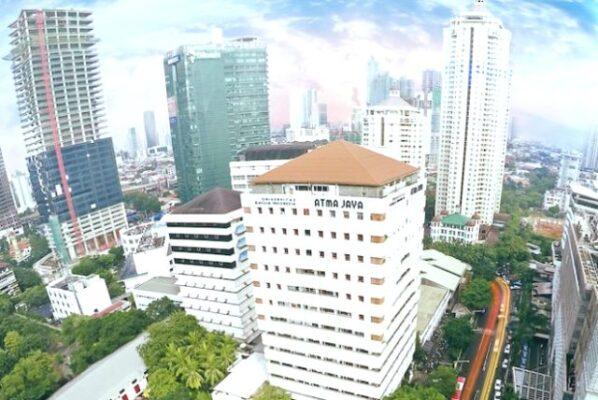 Ilustrasi: Kampus Unika Atma Jaya Semanggi, Jakarta. (Ist.)
