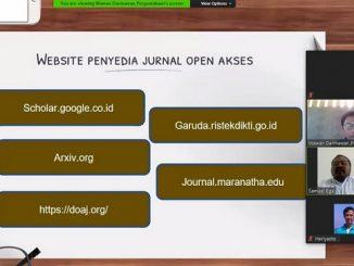 Kelas Literasi di Universitas Kristen Maranatha