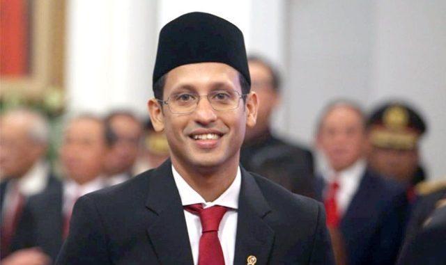 Mendikbud RI Nadiem Anwar Makarim. (Ist.)