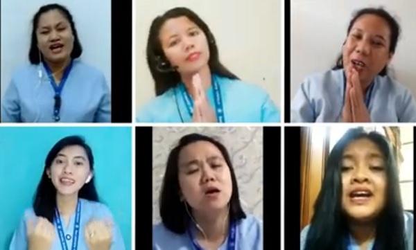 Persembahan lagu Guruku Tersayang by Teachers & Staff of TKK 6 PENABUR