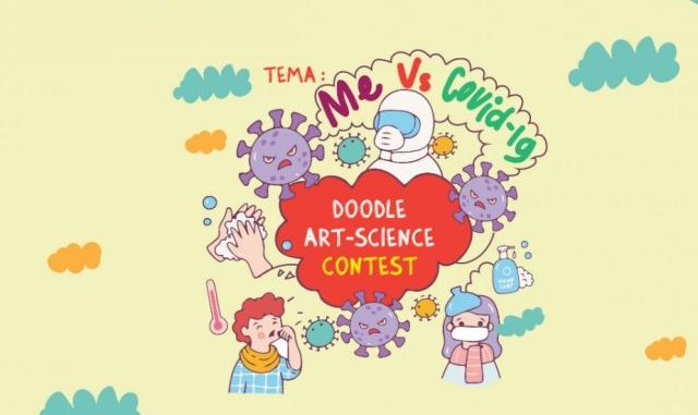 Ilustrasi: Para Juara Doodle Art Science Contest 2020. (Ist.)
