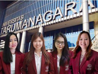 Tim Fakultas Ekonomi dan Bisnis Untar meraih Juara Pertama dalam ajang The 5th Management Euphoria 2020. (Dok.Untar)