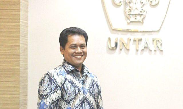 Rektor Universitas Tarumanagara Jakarta, Prof. Dr. Ir. Agustinus Purna Irawan. (Ist.)