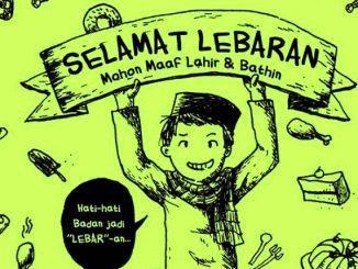 """Ilustrasi: Asal usul dan arti kata """"Lebaran"""". (Ist.)"""