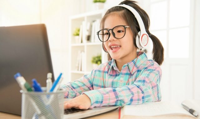 Ilustrasi: Anak masih belajar online di rumah. (Ist.)
