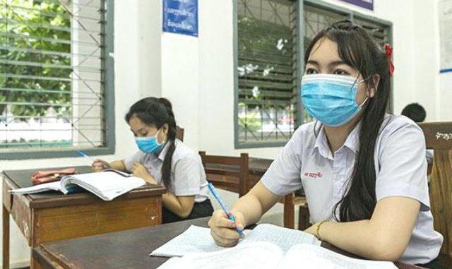 Ilustrasi: Belajar di sekolah saat pandemi Covid-19. (Ist.)