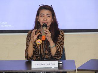 Dekan Fisipol Universitas Kristen Indonesia (UKI), Angel Damayanti. (Dok. UKI)
