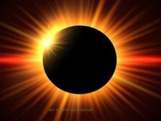 Ilustrasi: Gerhana matahari sebagian yang bisa diamati di beberapa wilayah di Indonesia. (Ist.)