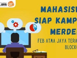Mahasiswa siap kampus merdeka; FEB Unika Atma Jaya Jakarta terapkan Blockchain
