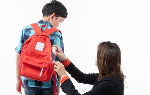 Peserta didik bersiap masuk sekolah (