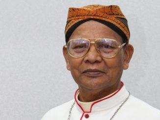 Mgr Julianus Sunarka SJ. (KalderaNews.com/y.prayogo)